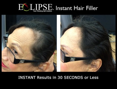Eclipse Hair Fiber for Women with Thinning Hair
